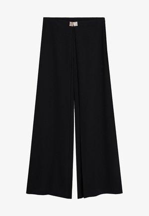 OTTO-A - Spodnie materiałowe - schwarz