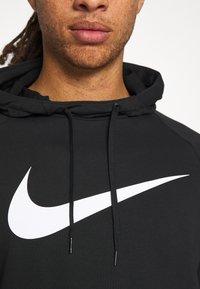 Nike Performance - Sweat à capuche - black/white - 5