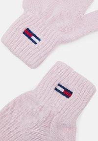Tommy Jeans - FLAG GLOVE - Gloves - pale pink - 2