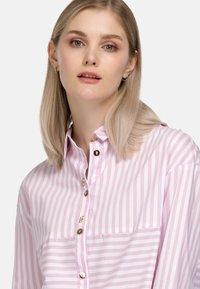 HELMIDGE - Button-down blouse - rosa - 3