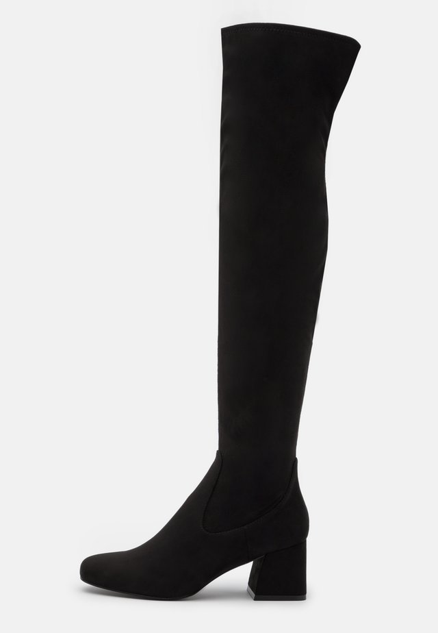 DELENA - Over-the-knee boots - black