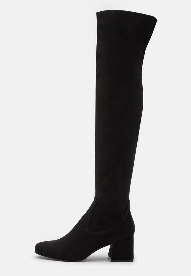 DELENA - Stivali sopra il ginocchio - black