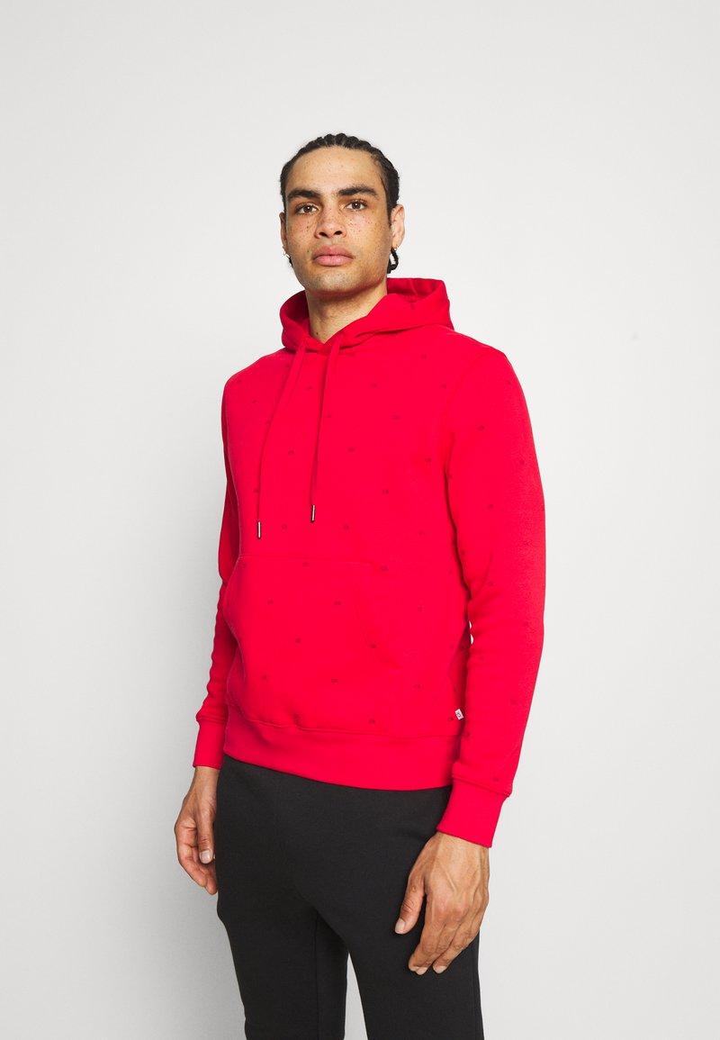 Calvin Klein Golf - ALL OVER PRINT HOODIE - Sweatshirt - red