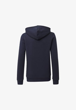 MUST HAVES FLEECE FULL-ZIP HOODIE - Bluza rozpinana - blue