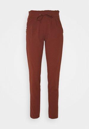 JDYCATIA NEW PANT - Tracksuit bottoms - cherry mahogany