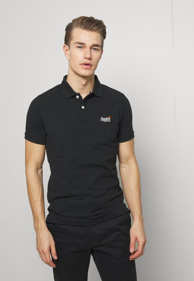CLASSIC  - Poloskjorter - black