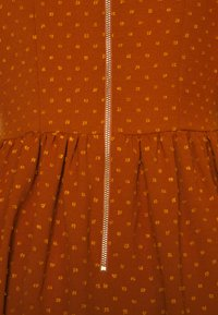 Closet - CLOSET HIGH COLLAR MINI DRESS - Day dress - tan - 2