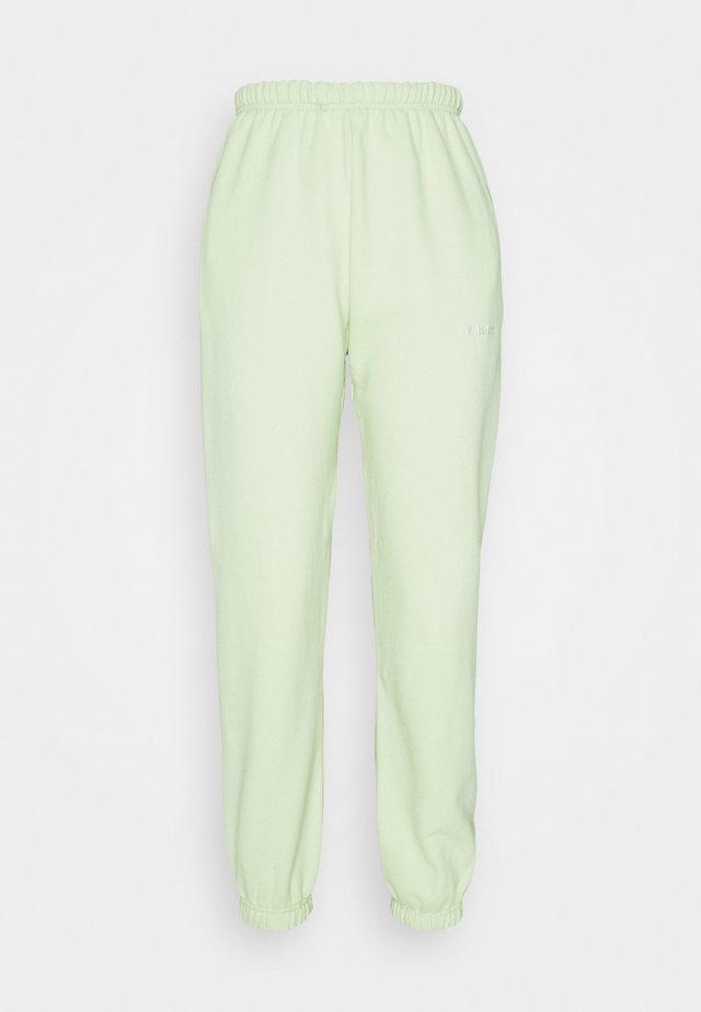 LULA PANTS - Verryttelyhousut - iced green