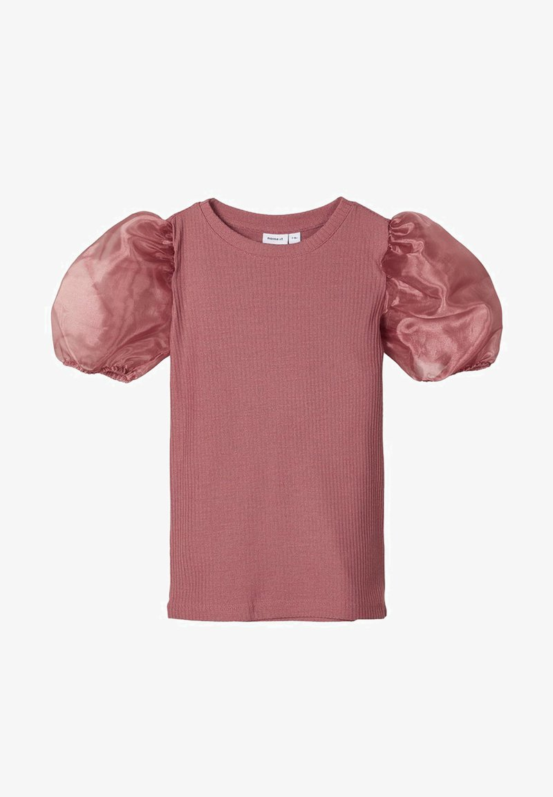 Name it - SLIM FIT PUFFÄRMEL - Blouse - withered rose