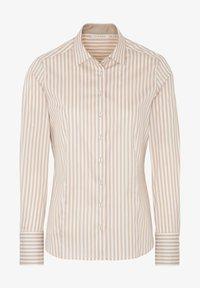 Eterna - Button-down blouse - beige/weiß - 3