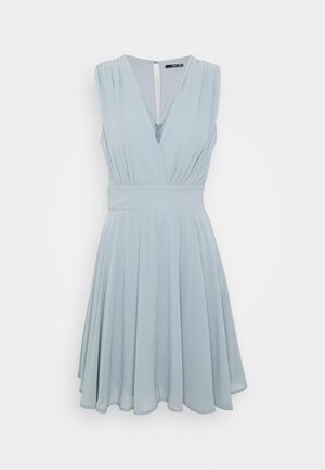 NORDI DRESS - Juhlamekko - grey blue