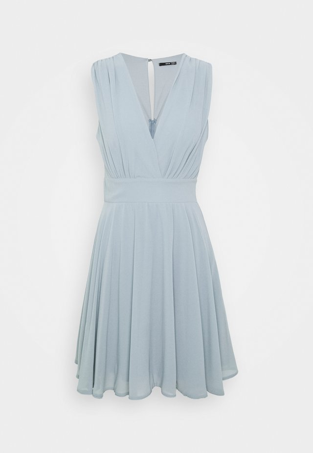 NORDI DRESS - Cocktail dress / Party dress - grey blue