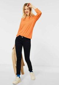 Street One - Long sleeved top - orange - 1