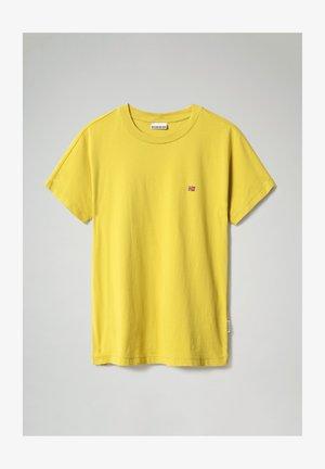 SALIS - Basic T-shirt - yellow moss