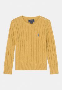 Polo Ralph Lauren - CABLE - Pullover - campus yellow - 1