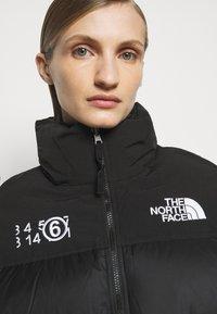 MM6 Maison Margiela - MM6 X THE NORTH FACE COAT - Veste d'hiver - black - 4