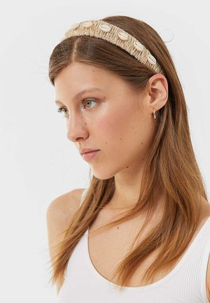 MIT MUSCHELN  - Hair styling accessory - white