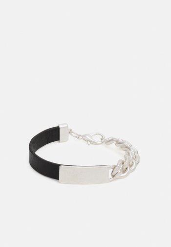 CURB MERGE BRACELET - Bracelet - black
