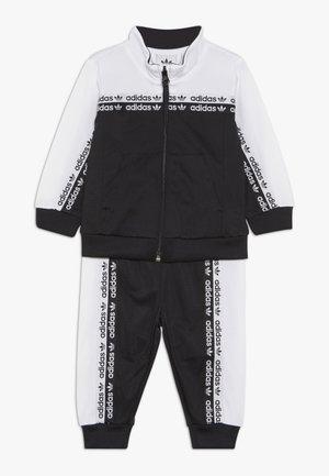 TRACKSUIT - Training jacket - black/white