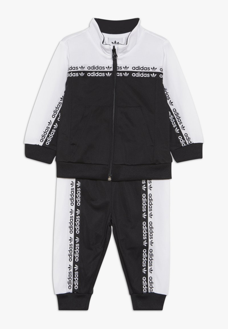 adidas Originals - TRACKSUIT - Veste de survêtement - black/white