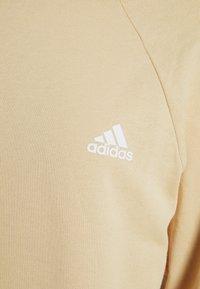 adidas Performance - Sweatshirt - hazbei/white - 5