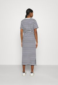Lacoste - Jersey dress - navy blue/flour - 2