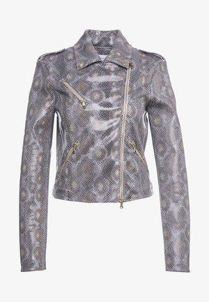 GIUBBOTTO JACKET - Faux leather jacket - beige