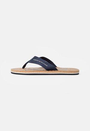 CORKBEACH SANDAL - T-bar sandals - desert sky