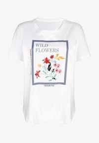 Laura Kent - Print T-shirt - off-white - 2