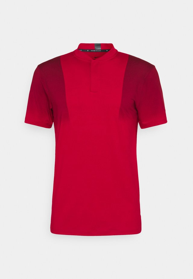 TIGER WOODS DRY BLADE - T-shirt print - gym red/team red