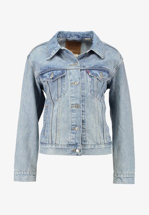 EX-BOYFRIEND TRUCKER - Jeansjakke - blue denim