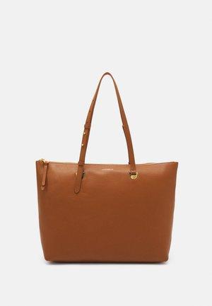 LEA SHOPPER - Velká kabelka - caramel