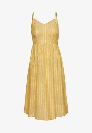 ONLVIVIAN CANYON LONG LIFE DRESS - Kjole - golden spice