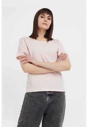 Print T-shirt - pale pink