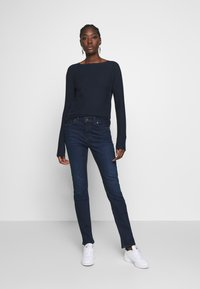 Marc O'Polo DENIM - LONG SLEEVE CREW NECK - Jumper - scandinavian blue - 1