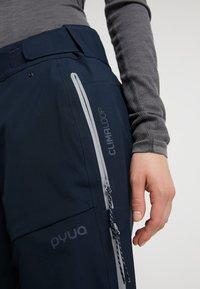 PYUA - Trousers - navy blue - 3