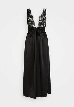 EYELASH CHEMISE - Noční košile - black