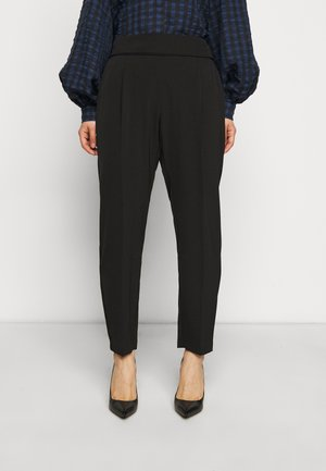 HENNA PULL ON - Trousers - black