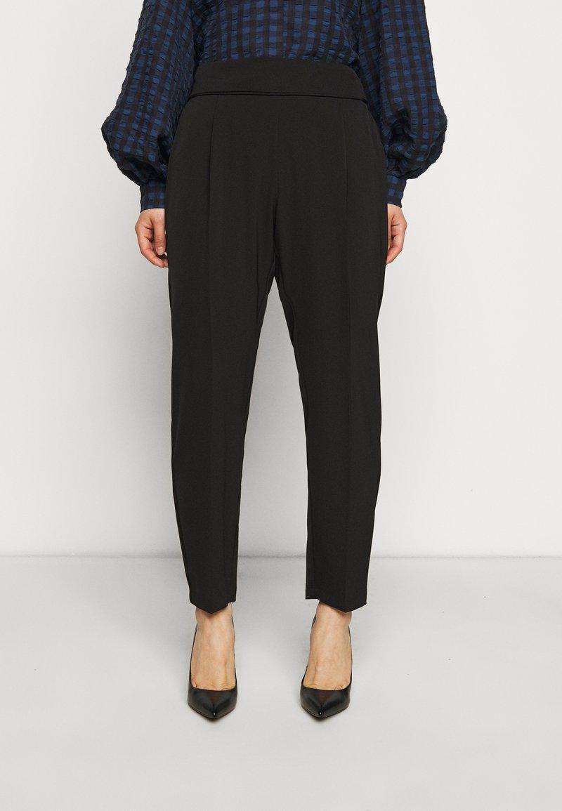 Wallis Petite - HENNA PULL ON - Trousers - black