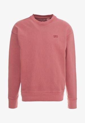 Sweatshirt - earth red