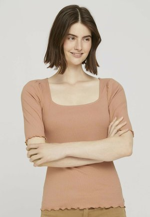 Blouse - clay rose