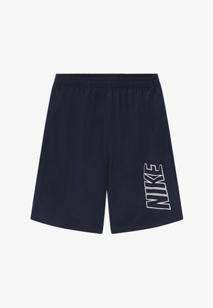 DRY ACADEMY SHORT - Sports shorts - obsidian/white