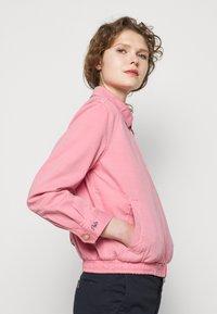 Polo Ralph Lauren - MONTAUK - Džínová bunda - ribbon pink - 4