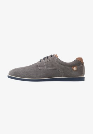 Casual lace-ups - grey