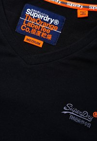Superdry - VINTAGE  - T-shirt basic - black - 5