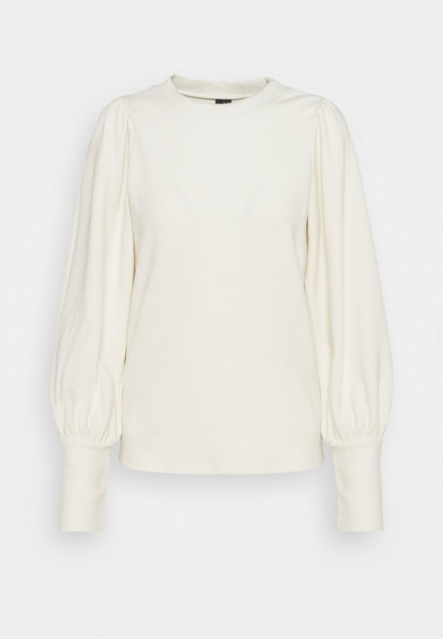 VMKINSEY PUFF - Long sleeved top - birch