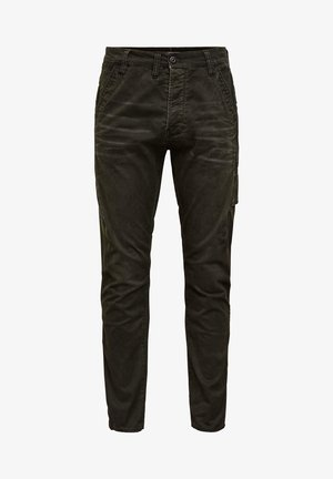 CITISHIELD 3D CARGO SLIM TAPERED - Slim fit jeans - wild rovic
