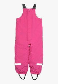 Didriksons - TARFALA KIDS PANTS - Snow pants - plastic pink - 0