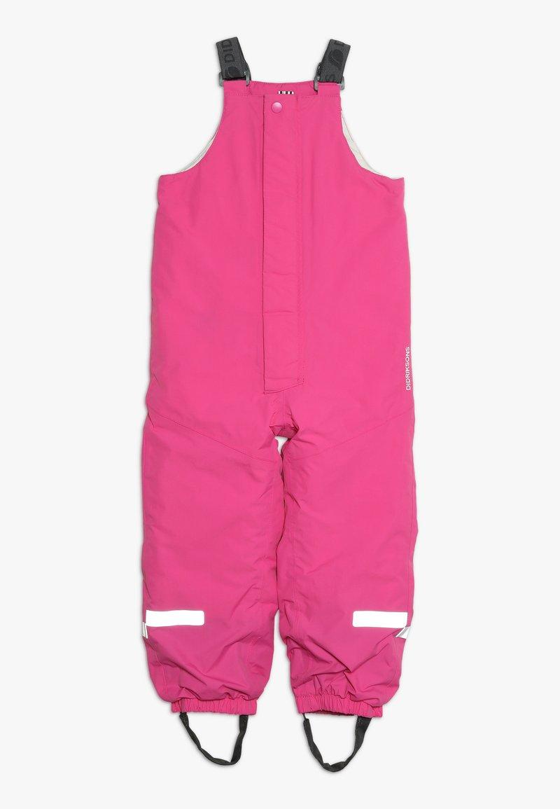 Didriksons - TARFALA KIDS PANTS - Zimní kalhoty - plastic pink