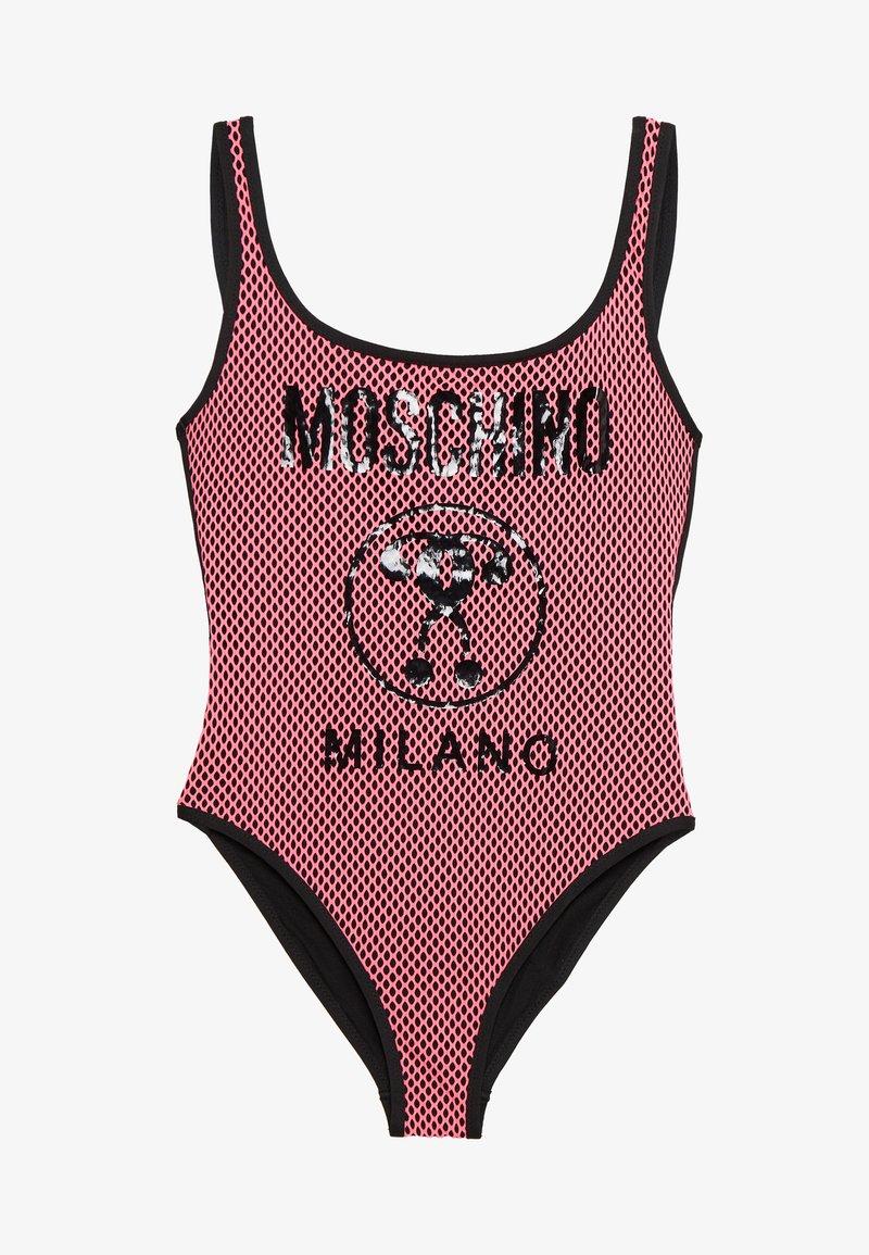 MOSCHINO SWIM - SWIMSUIT - Swimsuit - fuchsia